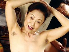【エロ動画】孫のセンズリを鑑賞する祖母 帝塚真織のエロ画像