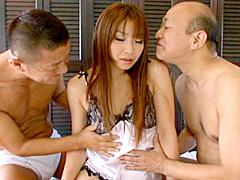 【エロ動画】義父に犯される! 新妻哀歌 倖田李梨のエロ画像