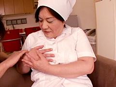 【エロ動画】働くおばさん肉体派4のエロ画像