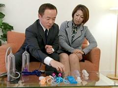 【エロ動画】熟年夫婦の官能バイブル 岡崎花江のエロ画像