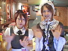 DUGA - 少年メイド喫茶☆エッチなサービスでご奉仕!!