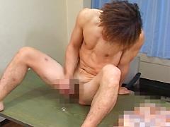 【ホモセクシュアル】ノンケ鳶職人!!イケメン兄貴のアナル初体験