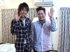 【3Pゲイbl動画】けんじとひろとのバーチャルウリセン~3P編~