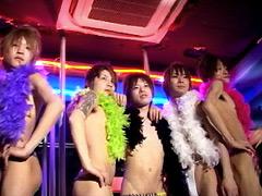 【らいむ動画】DDE2~リンボー&ファッションショー&楽屋裏エッチ~-ゲイ