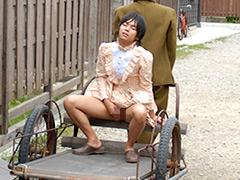 【キスのゲイbl動画】Aki 昭和町娘の駆け落ちストーリー!昭和の町で大胆に!