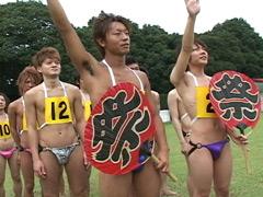 あき:男だらけの大運動会2(開会式~第一競技 第1レース)