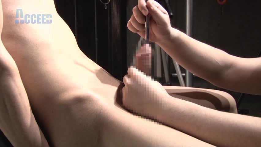 Orgasm 大人気モデル【酒井智輝】初挑戦の尿道プレイ