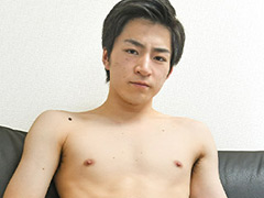 爽やかノンケ青年初撮りオナニー