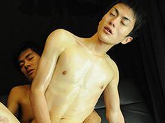 エリートリーマン将人と孝之、ローションFUCK!!