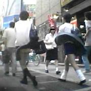 劇風!女子校生吹き上げパンチラ!(アクトネット)