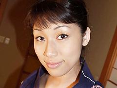 【エロ動画】淫汁垂らす浴衣の女 八神小夜のエロ画像
