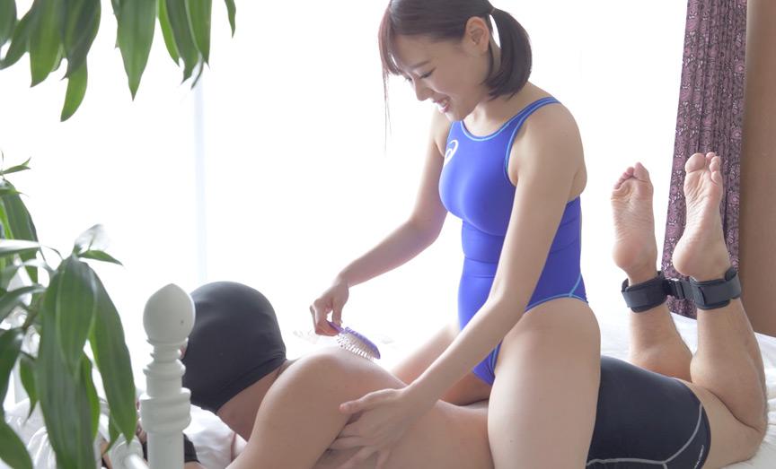 可愛い巨乳大人気女優 浜崎真緒チャンのM男くすぐり!