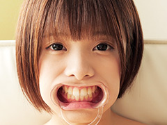 星咲凛チャンのとっても貴重な歯・舌ベロフェチ動画!