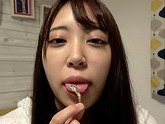 加賀美さらチャンの激レア舌ベロ・口内・歯観察!