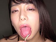有村のぞみチャンの小魚舐め&咀嚼唾溜めプレイ!