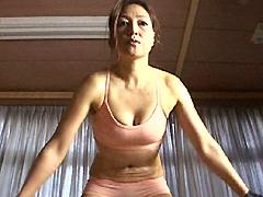 【エロ動画】筋肉熟女5のエロ画像