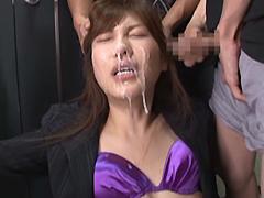 【エロ動画】日本国民顔射記念日のエロ画像