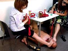 【佐藤奈々動画】新人OL様と家畜奴隷に堕ちた上司-M男