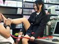 可愛い小娘に生足と桃尻で徹底的に躾けられるマゾ親父 安岡成美