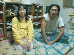 【エロ動画】臨月夫婦のエロ画像