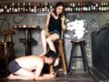 中国超美人扶桑様がバーで小剛を恥辱した。