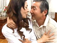 【エロ動画】定年退職を迎えた夫婦のこれからの夜の営みの人妻・熟女エロ画像