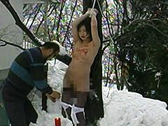 【エロ動画】完全会員制M専科人妻被虐四時間のSM凌辱エロ画像