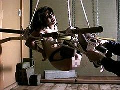 【エロ動画】緊縛拘束監禁四時間 鞭縄地獄のSM凌辱エロ画像
