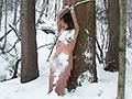 究極マゾ妻肉奴隷 野外雪責め針貫通