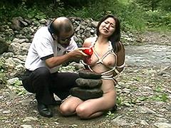 【エロ動画】4時間緊縛奴隷女子●生悶絶集のエロ画像