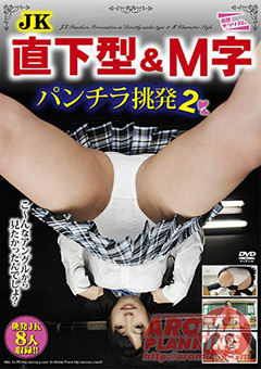 JK 直下型&M字 パンチラ挑発2