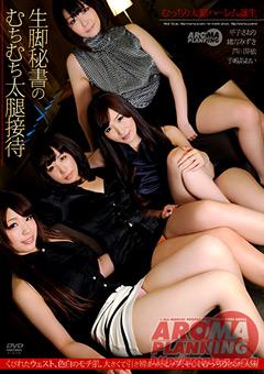 【生脚秘書動画】生脚秘書のむちむち太腿接待-フェチ