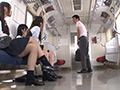 電車通学の私立腿コキ学園の生徒とМ男
