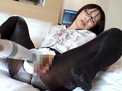 DUGA - 黒パンストの美脚女教師 ストッキング着せ替え潮吹き人形