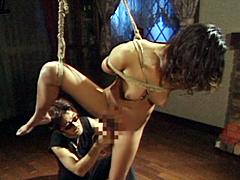 【エロ動画】緊縛志願の若妻 乱妻の秘密遊戯のエロ画像