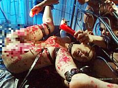 【エロ動画】背徳の白い肉魔のSM凌辱エロ画像