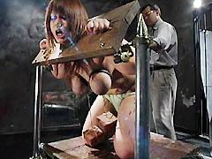 【エロ動画】巨乳肉奴・檻へ4のエロ画像