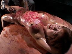 【エロ動画】倒錯求道者の夜 四本足の女 神谷なつきのSM凌辱エロ画像