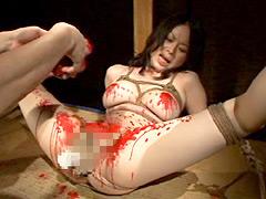 【エロ動画】SM東京羞恥 超美乳パイパン若妻羞辱地獄 松田由美のSM凌辱エロ画像