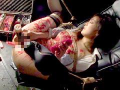 【エロ動画】絶頂潮吹きマゾのSM凌辱エロ画像