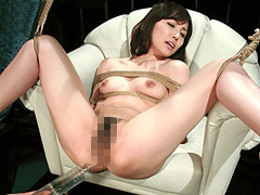 【エロ動画】人妻堕淫縄嬲り 真白希実のエロ画像