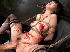 【エロ動画】Gスポット地獄2 菊里藍のSM凌辱エロ画像