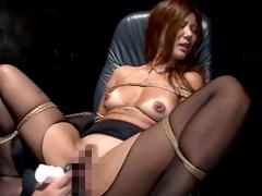 【エロ動画】美熟女の爆発オルガ1 濡れやすい未婚33才 藤沢未央のエロ画像