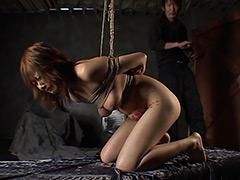 【エロ動画】感涙・巨乳恥縛調教のSM凌辱エロ画像