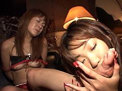 【エロ動画】美脚牝生贄秘話のエロ画像
