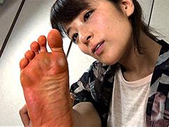 足裏:【足のにおい】 劇団員・ガテン系3K足