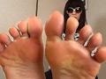 【足のにおい】 生保レディ・足脂で透明化