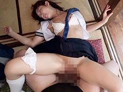 【エロ動画】制服と布団と汗が滴る淫湿セックス 星奈あいのエロ画像