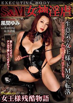 「S&M 女神淫虐 Theatre-01 女王様残酷物語 風間ゆみ」のパッケージ画像