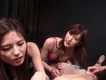 神波多一花と武藤あやかと真山由夏とМ男1